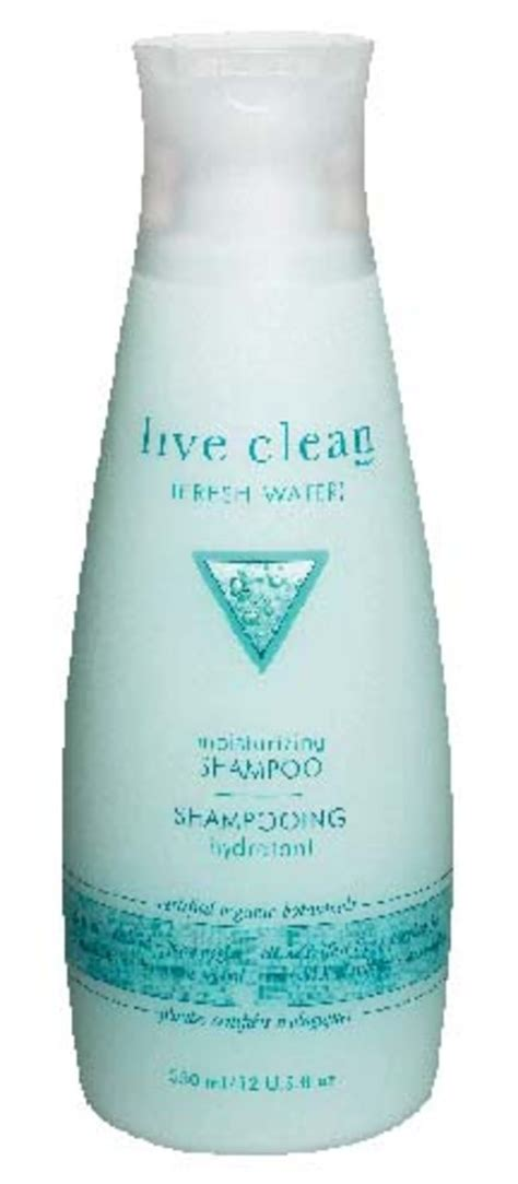 Good Green Hair: Live Clean Shampoo and Conditioner